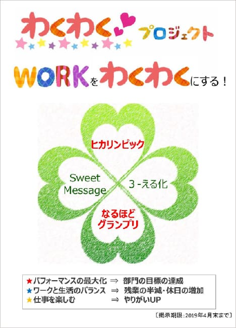 Work-o-Wakuwaku (Make work exciting)